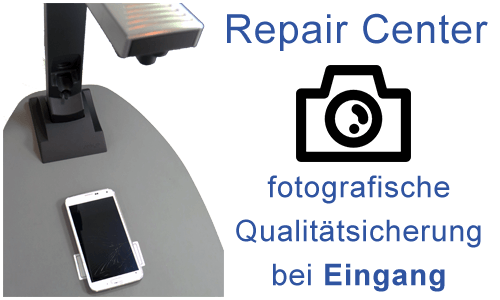 3. Eingang im Repair Center